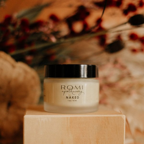 naked moisturizer from romi apothecary