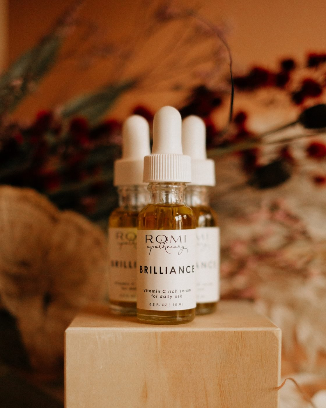 brilliance serum from romi apothecary