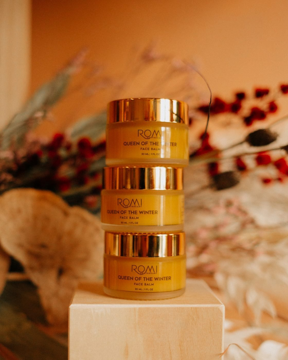 queen of winter balm from romi apothecary