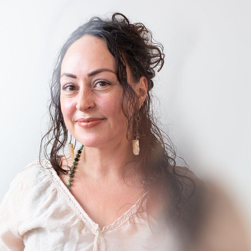 image of sharon bruhjell-coleman, yoga teacher at healing elements