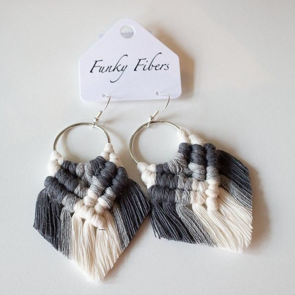elyse style earrings by funky fibers