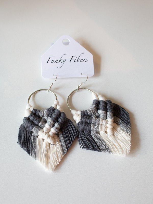 elyse style earrings by funky fibers