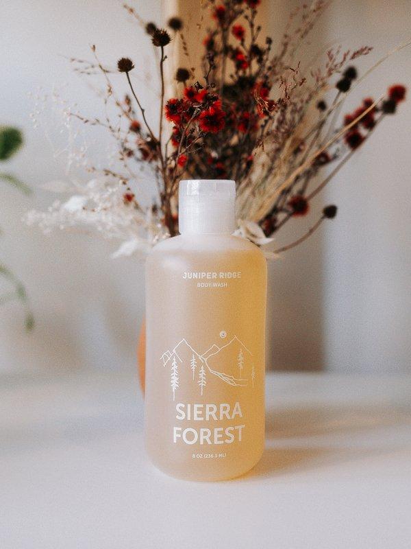 sierra forest body wash from juniper ridge