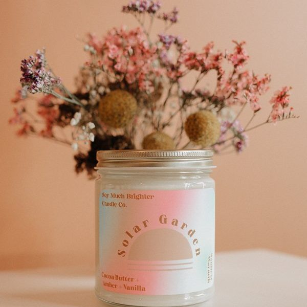 Solar Garden Soy candle from Soy Much Brighter