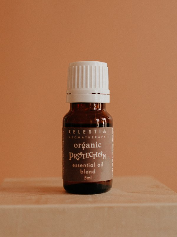 Protection essential oil blend by celestia aromatherapy