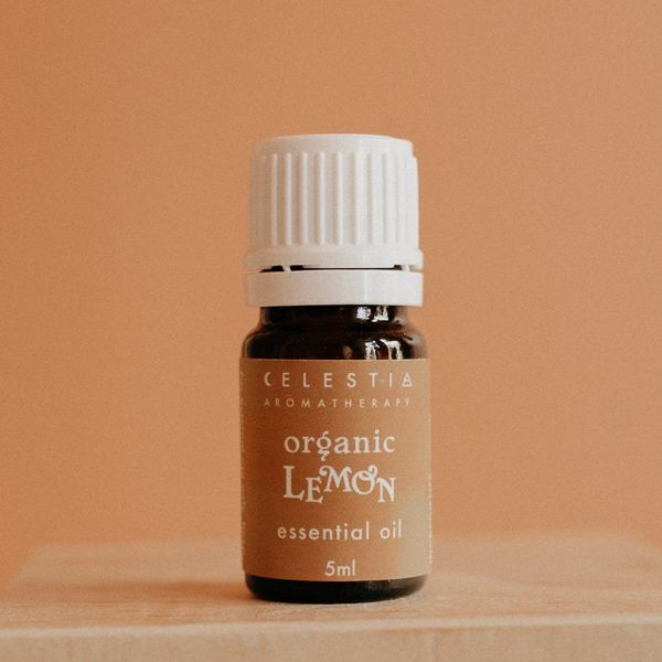 lemon essential oil by celestia aromatherapy