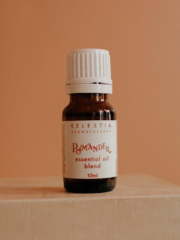 pomander essential oil blend by celestia aromatherapy
