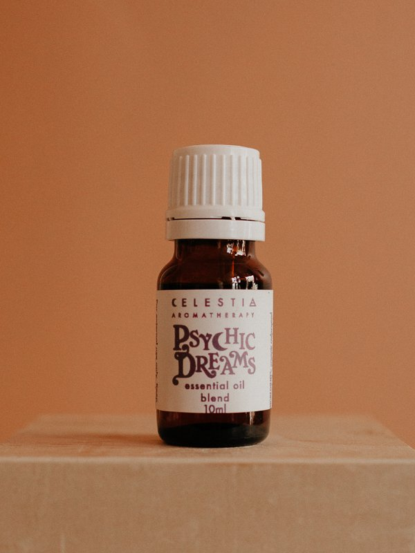 psychic dreams essential oil blend by celestia aromatherapy