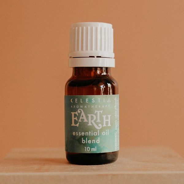 Earth essential oil blend by celestia aromatherapy