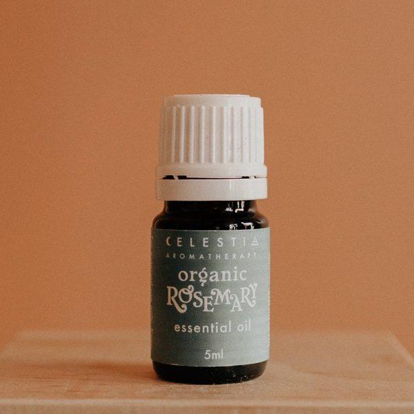 Rosemary essential oil by celestia aromatherapy