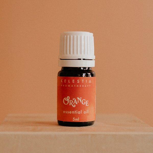 orange essential oil by celestia aromatherapy