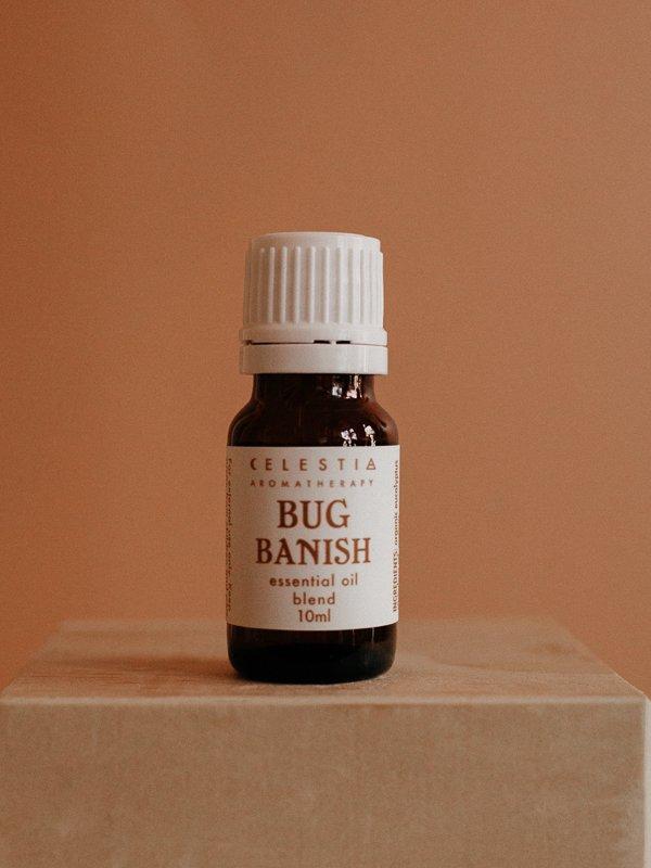 bug banish essential oil blend by celestia aromatherapy
