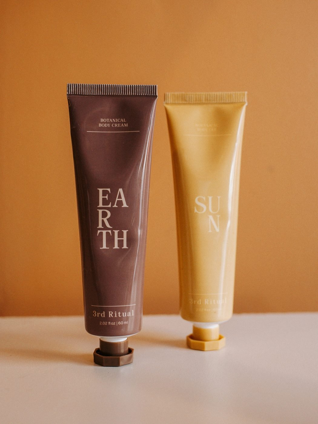 Earth & Sun body lotions from 3rd Ritual
