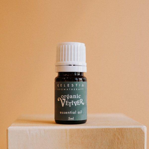Celestia Aromatherapy Vetiver essential oil
