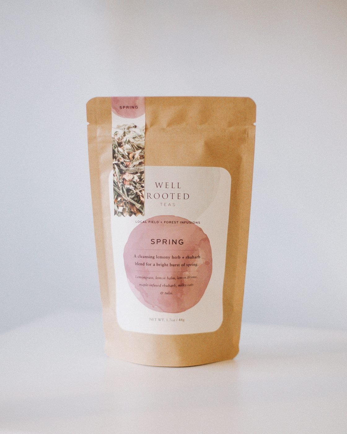 spring tea by well rooted teas