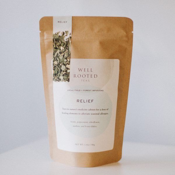 relief tea by well rooted teas