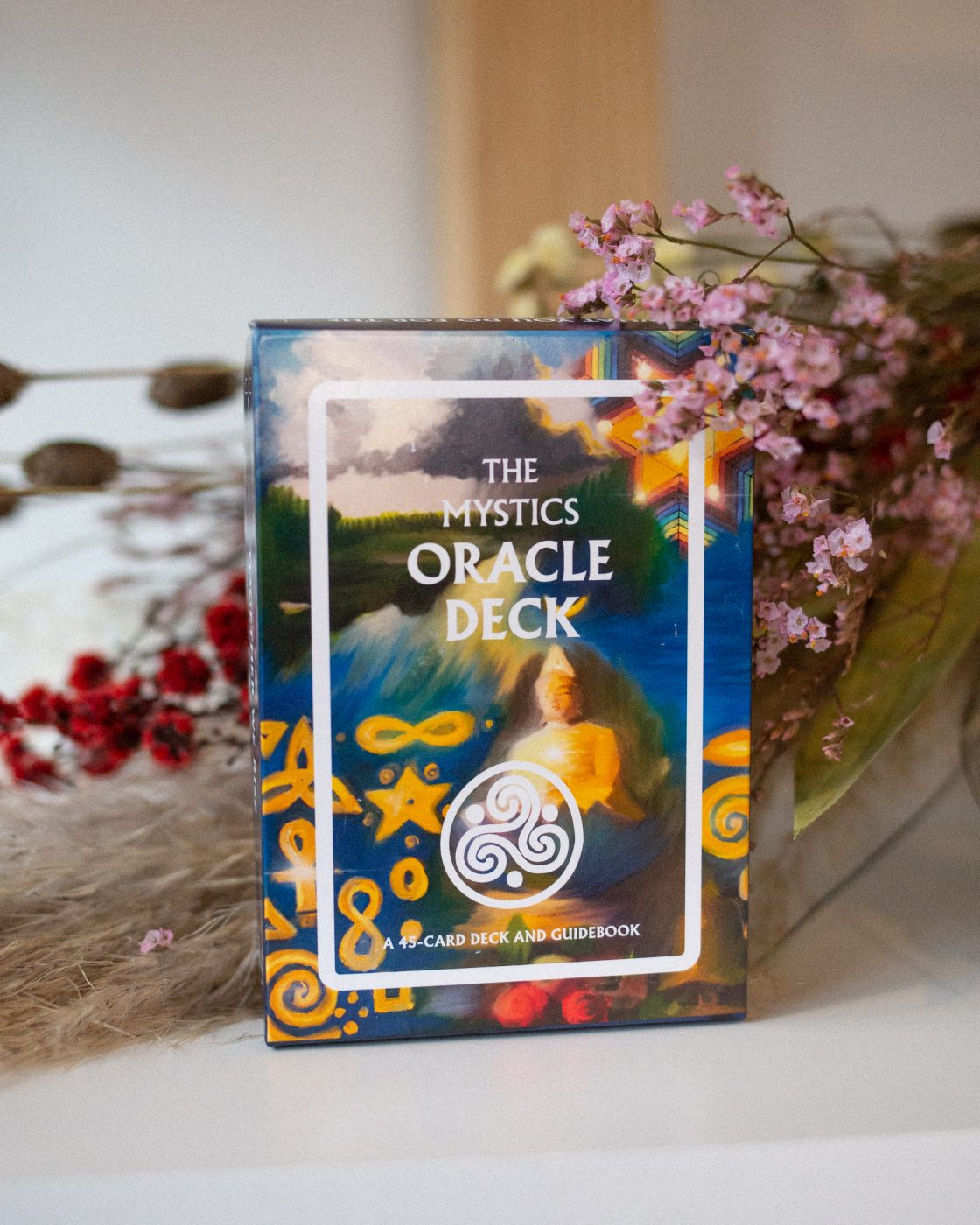 the mystics oracle deck from I Stand for Love brand