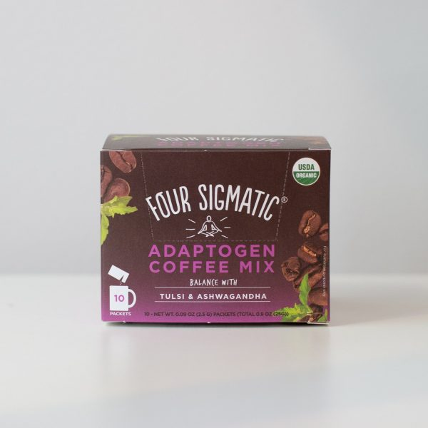 Four Sigmatic Adaptogen Coffee Mix Tulsi and Ashwaganda