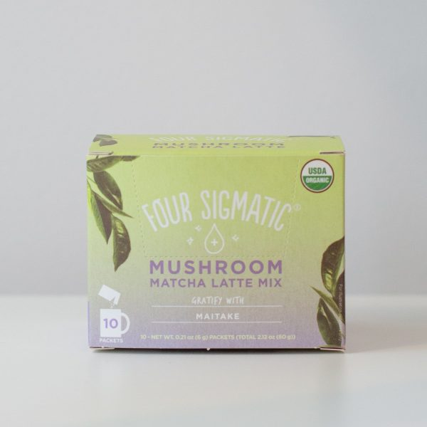 Matcha Latte Mix by Four Sigmatic Maitake Mushroom