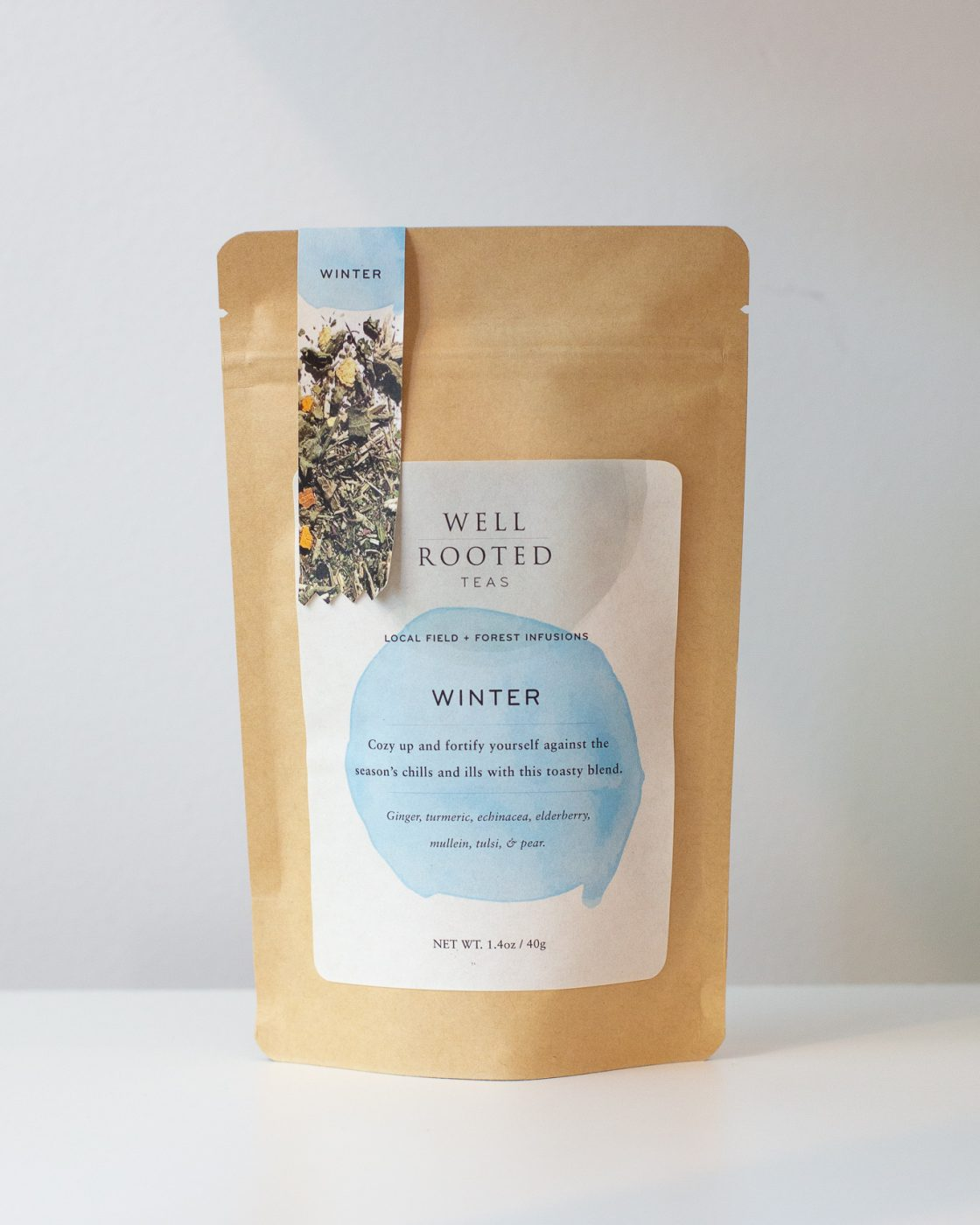 Local Minneapolis company Winter tea blend
