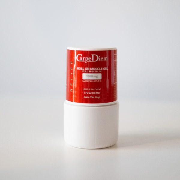CBD roll on muscle gel