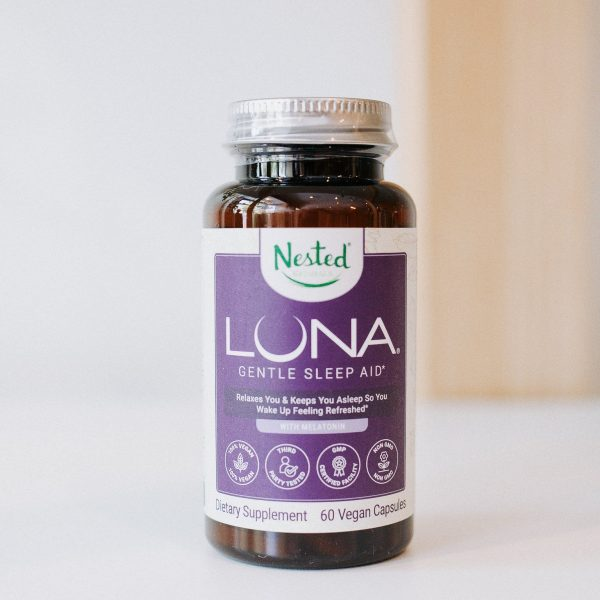 LUNA sleep supplements from nested naturals