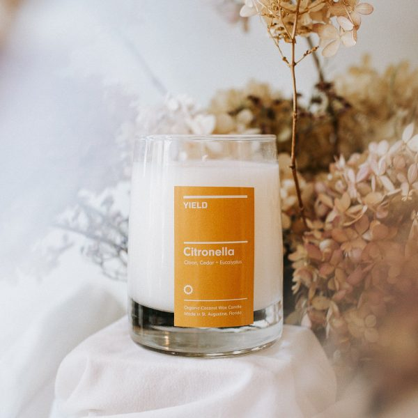 citronella candle by YIELD