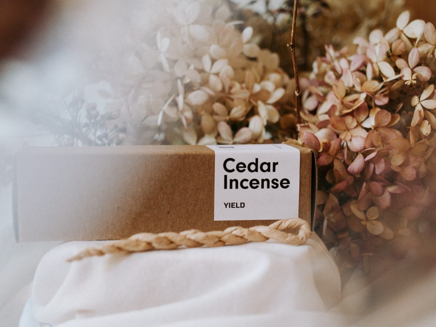 cedar incense ropes by YIELD