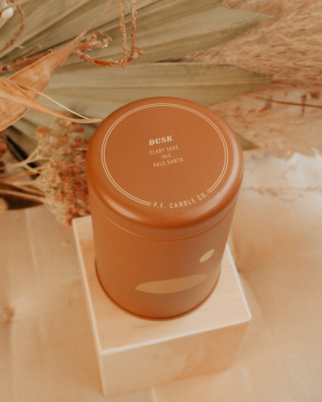 Dusk soy sunset candle from PF Candle Co