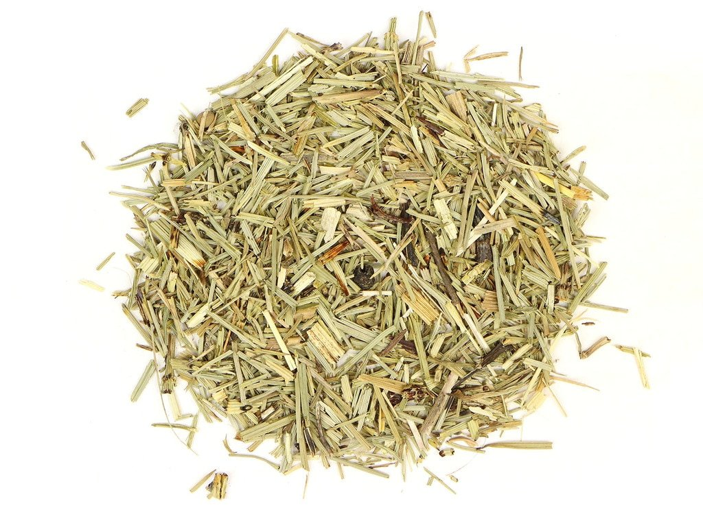 small pile of horsetail from mountain rose herbs