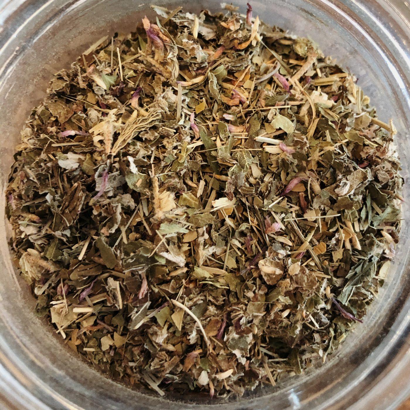 wild mint mate tea blend