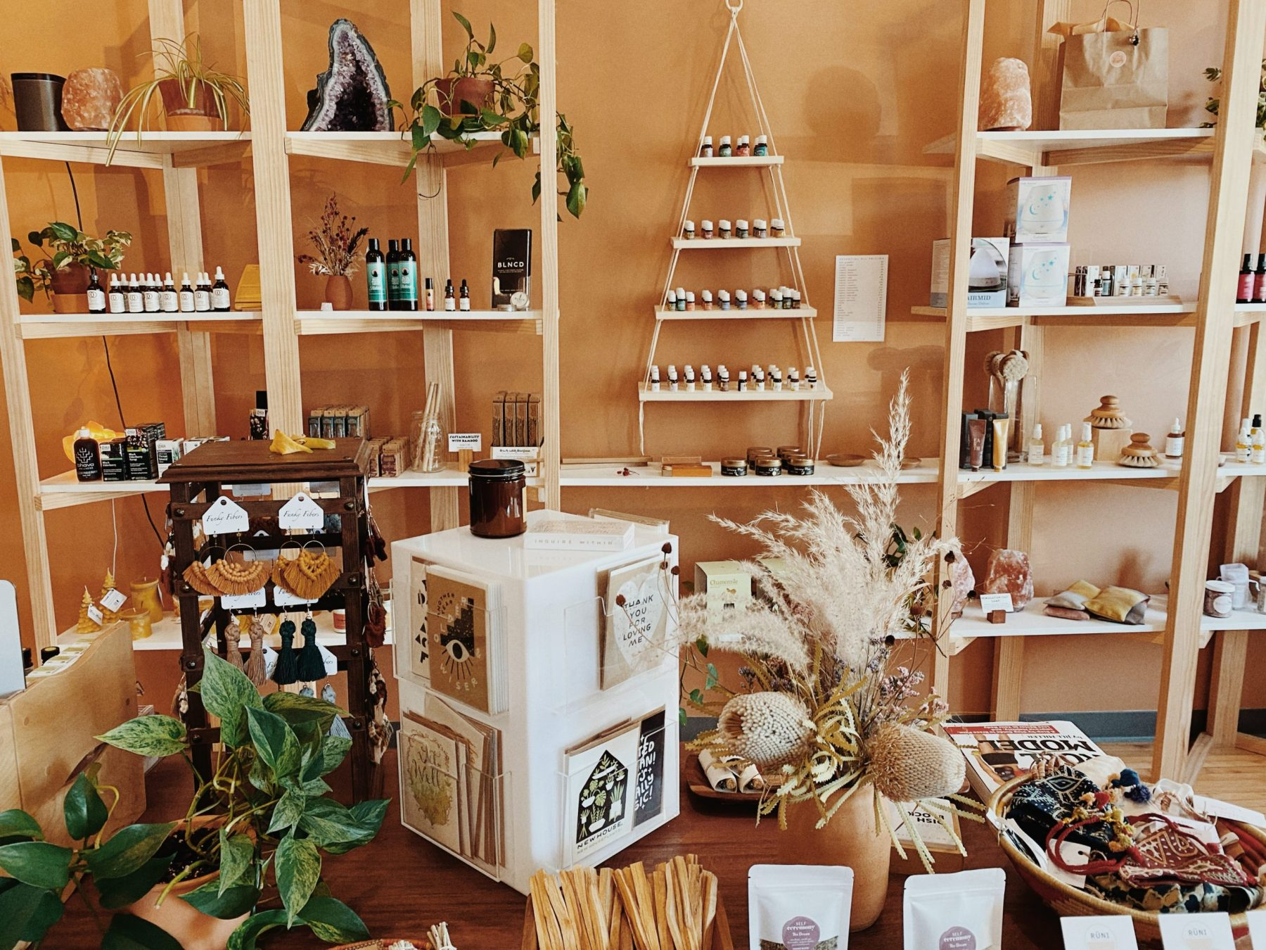 image of products in the Healing Elements shop