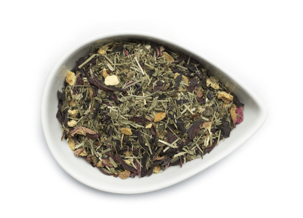 Hibiscus high tea from mountain rose herbs