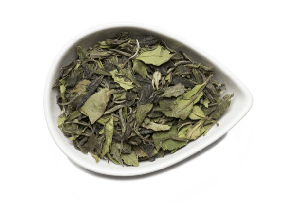 Kumaon white tea from mountain rose herbs