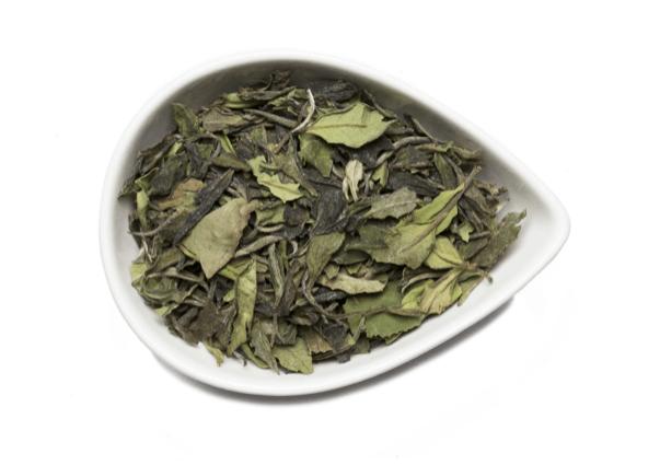Kumaon white tea from mountain rose herbs