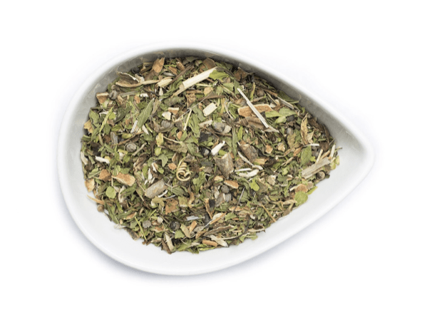 Moon ease tea blend from mountain rose herbs