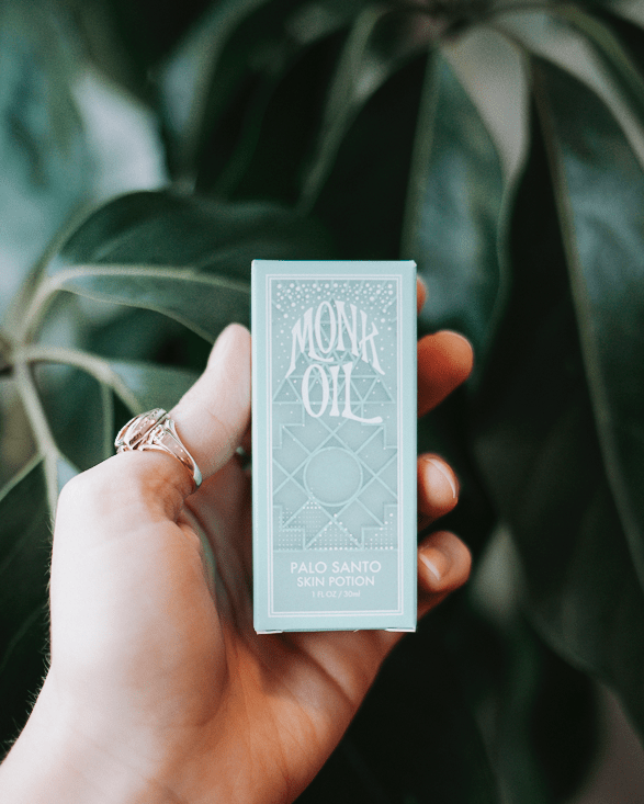 palo santo monk oil essential oil