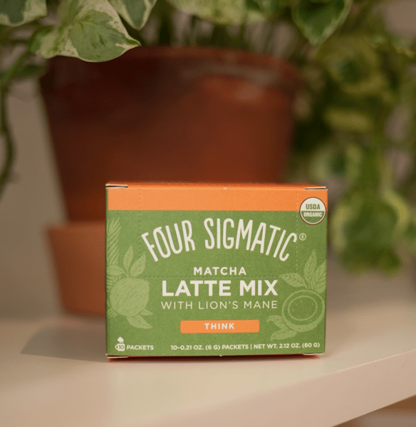 four sigmatic mushroom matcha latte mix