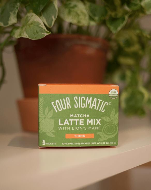 four sigmatic mushroom matcha latte mix
