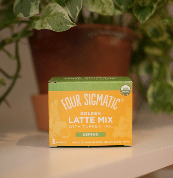 golden milk latte mix by four sigmatic