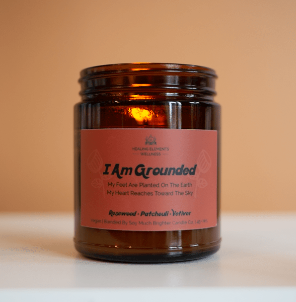 Healing Elements Grounded candle soy