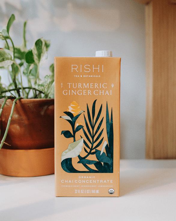 ginger turmeric chai from rishi