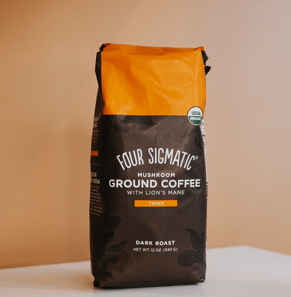 four sigmatic dark roast mushroom coffee