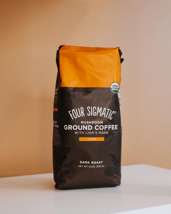 four sigmatic dark roast mushroom coffee