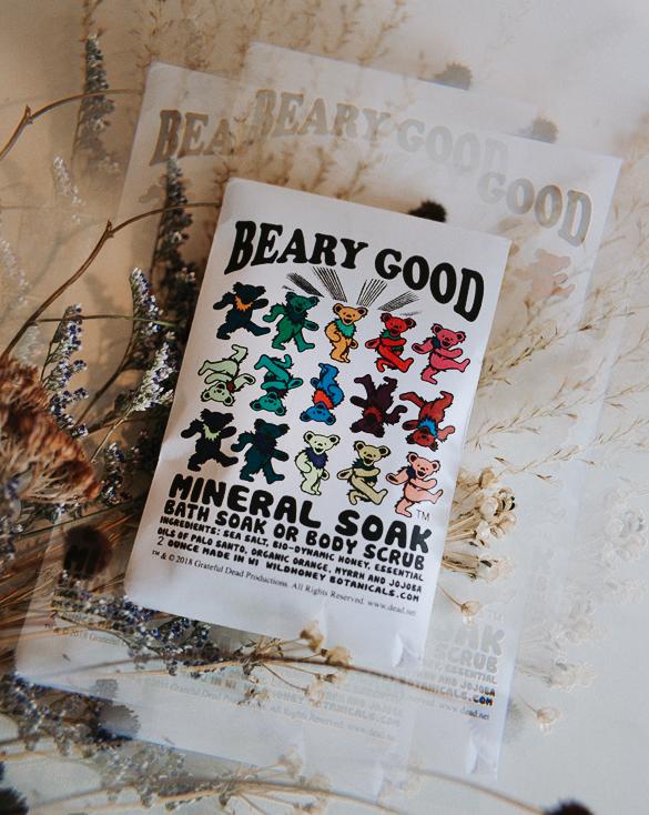 beary good grateful dead bath soak from wild yonder botanicals