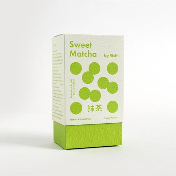 sweet matcha box from rishi botanicals