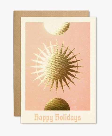 Happy Holidays card from Cai&Jo