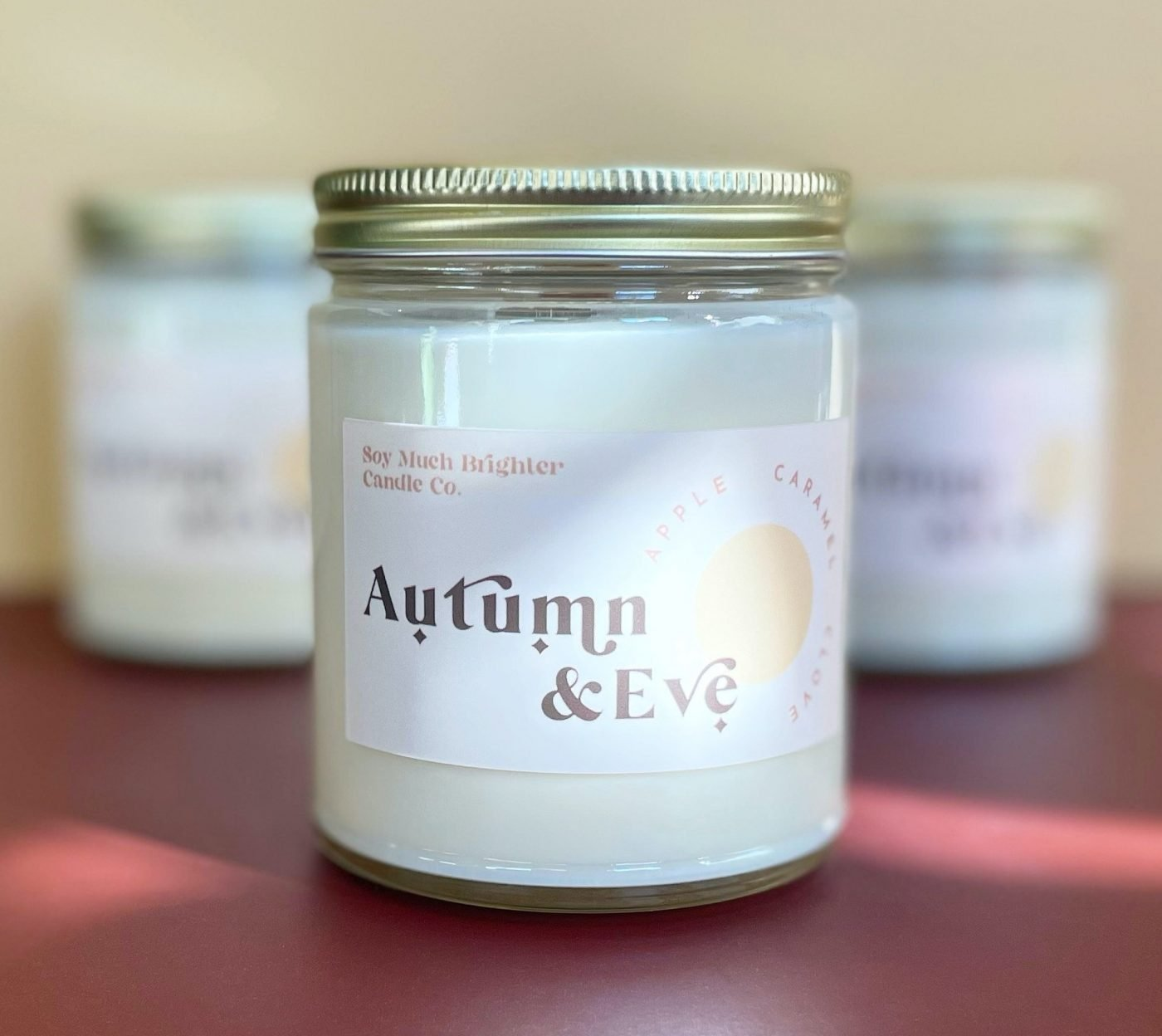autumn and eve candle from soy much brighter