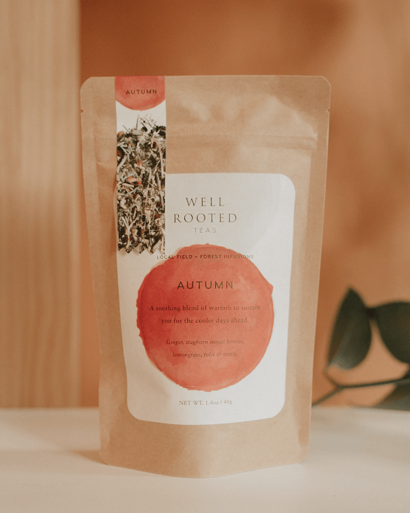 autumn tea by well rooted