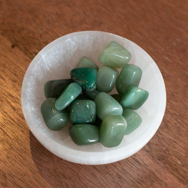 Tumbled Aventurine stones